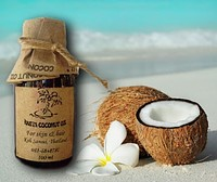 Organic coconut oil for hair