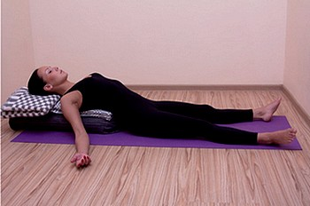 Shavasana - yoga poses for women over 50