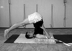 halasana - yoga poses for bloating relief